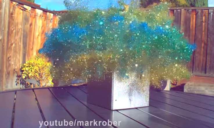Porch Pirate Glitter Bomb