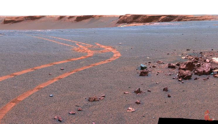 Mars Rover Footage