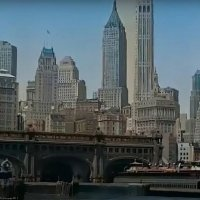 1930s New York Remastered Color Videos