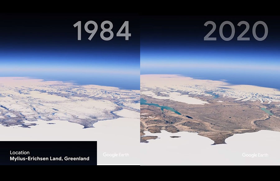Google Earth Satellite Images