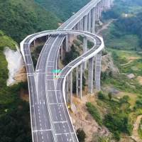 Check Out This Mountain Highway With The Worlds Biggest U-Turn in the World