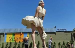 Giant Palm Springs Marilyn Monroe Statue