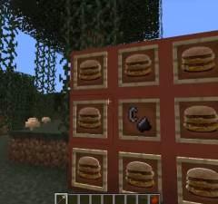 Eat McDonalds in Minecraft