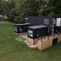 Video: 6 Container Rental Home Looks Incredible