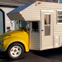 This 1969 VW Beetle Camper is Super Cool!