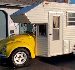 1969 VW Beetle Camper