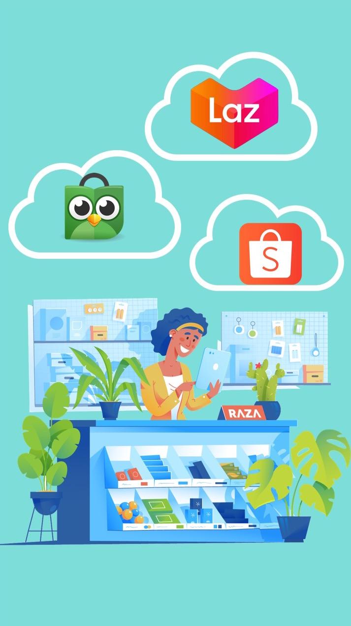 Sistem integrasi marketplace dan manajemen pengiriman unsircle dapat membantu penjual online berjualan