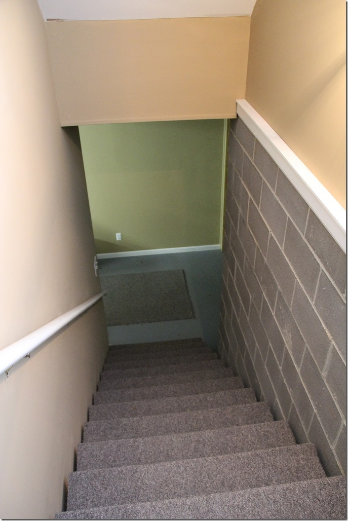 Our Basement Staircase Transformation Reveal From Concrete To | Outside Stairs To Basement | Walkout | Too Steep | Residential | Both Side | Side Entrance