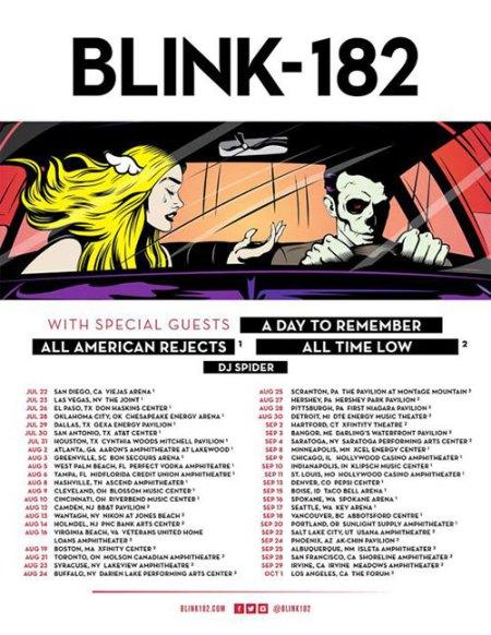 Blink182-tour