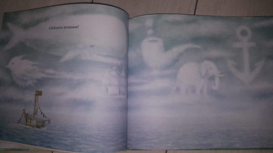 Imagini carte - intre cer si mare