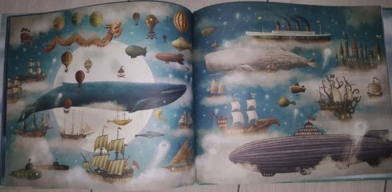 secventă carte- între cer și mare