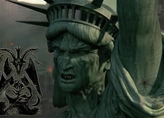 True Origin of The Statue of Liberty represent Lucifer