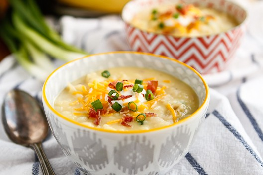 30-Minute Loaded Baked Potato Soup | Simple Weeknight Meal