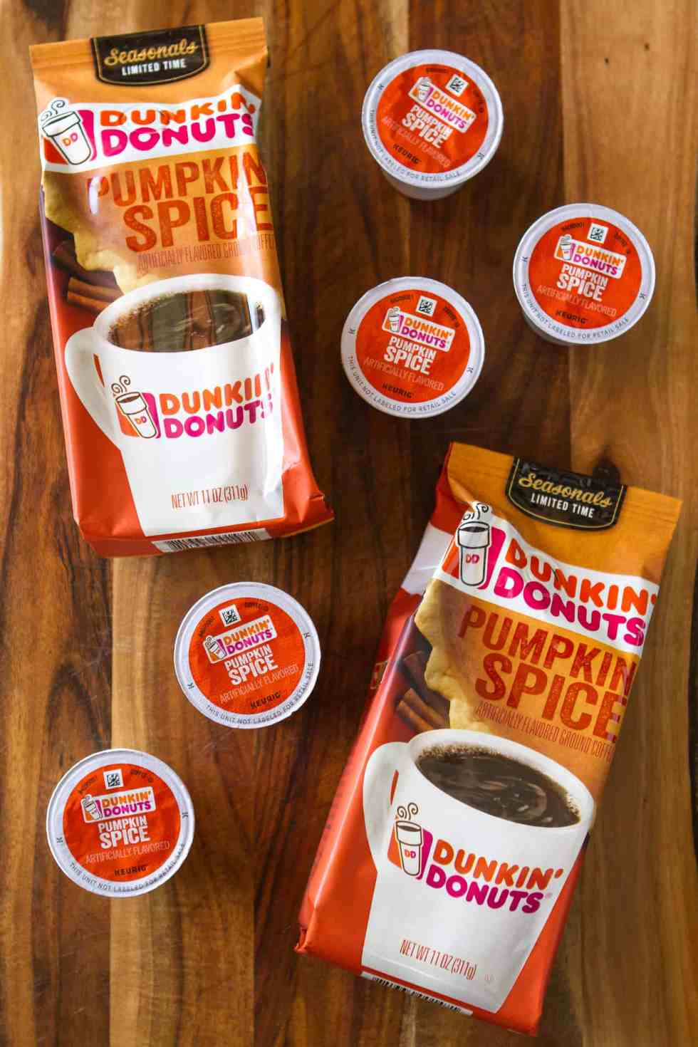 Dunkin' Donuts Limited Edition Pumpkin Spice Coffee