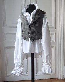 George gilet gris face - copie