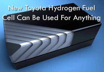 Toyota Hydrogen Fuel Cell