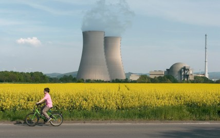 farm safe nuclear power plant around children