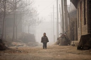Small Boy - Linfen Pollution