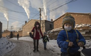 Children must suffer with the pollution from the Changzhi, Shanxi province coal mines