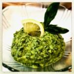 Pesto with Pine Nuts