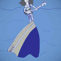 What about the voice of Geddy Lee, how did it get so high?