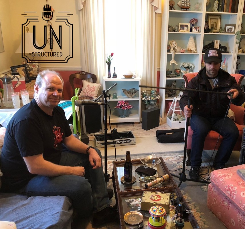 019 - Eric and Isaiah Gooley UnstructuredPod Unstructured interviews - Dynamic Informal Conversations with unique wide-ranging and well-researched interviews hosted by Eric Hunley