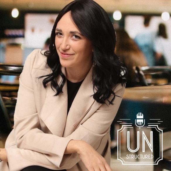 054 - Estie Rand UnstructuredPod Unstructured interviews - Dynamic Informal Conversations with unique wide-ranging and well-researched interviews hosted by Eric Hunley
