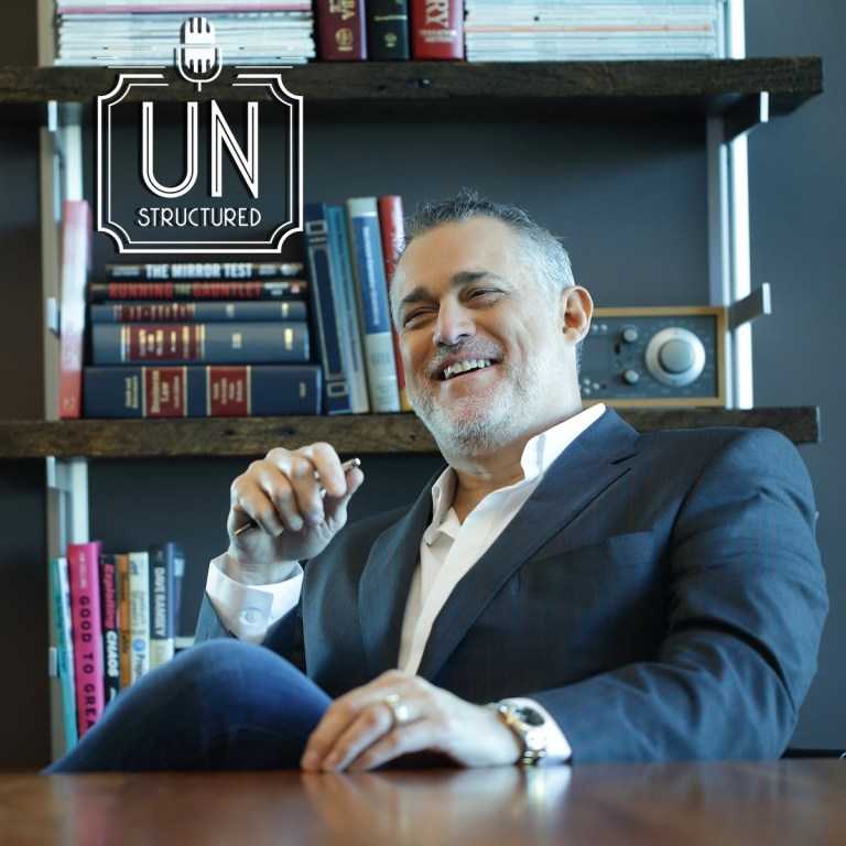 124 - Jeffrey Hayzlett UnstructuredPod Unstructured interviews - Dynamic Informal Conversations with unique wide-ranging and well-researched interviews hosted by Eric Hunley