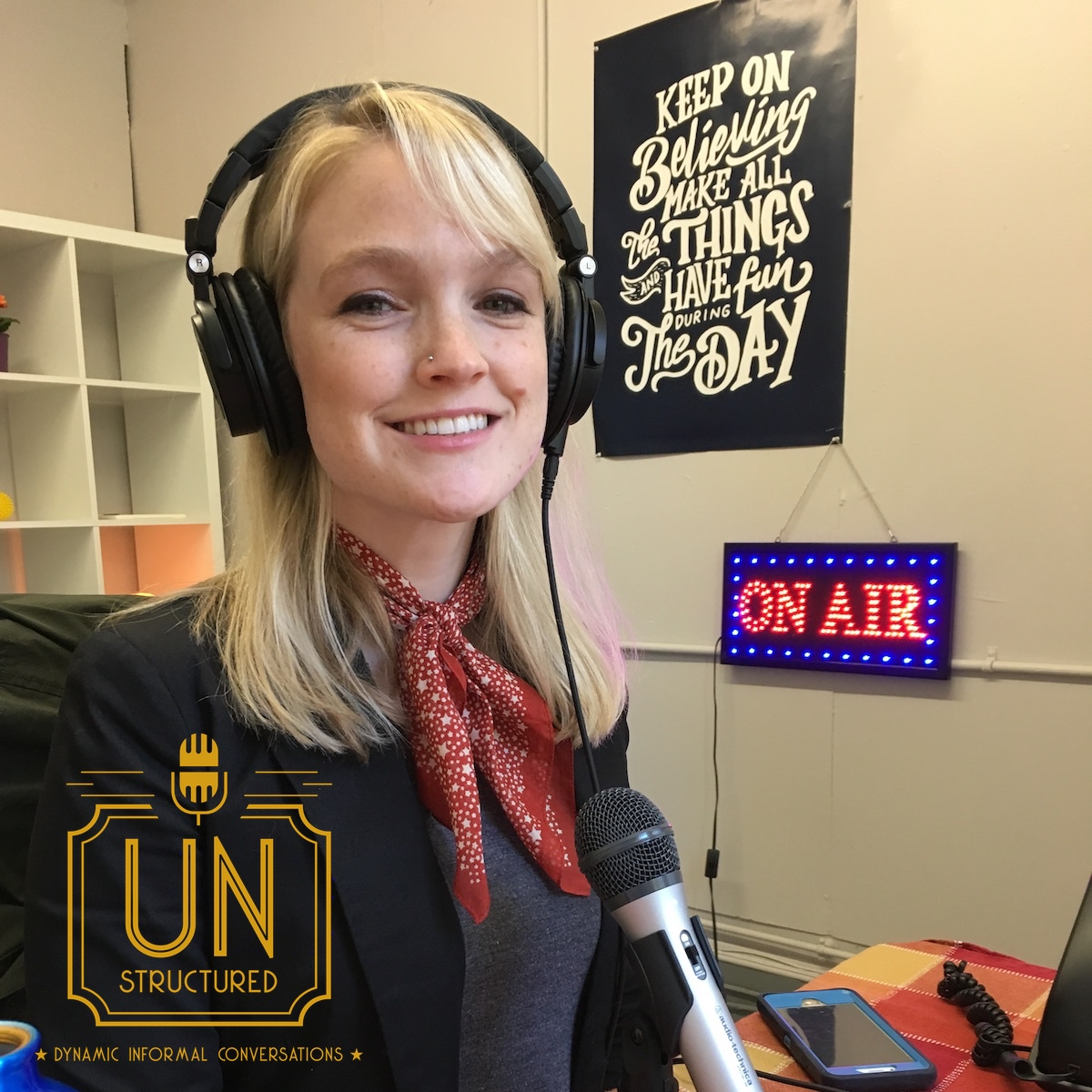 087 - Margy Feldhuhn - Unique wide-ranging and well-researched unstructured interviews hosted by Eric Hunley UnstructuredPod Dynamic Informal Conversations