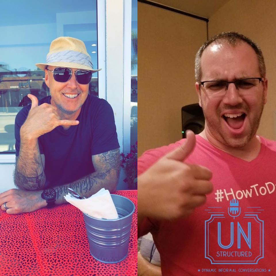 143 - Should Podcast Guests Pay? Chris Lochhead and Joe Pardo - Unique wide-ranging and well-researched unstructured interviews hosted by Eric Hunley UnstructuredPod Dynamic Informal Conversations