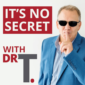 Eric Hunley's appearances on It's No Secret with Dr T Podcast