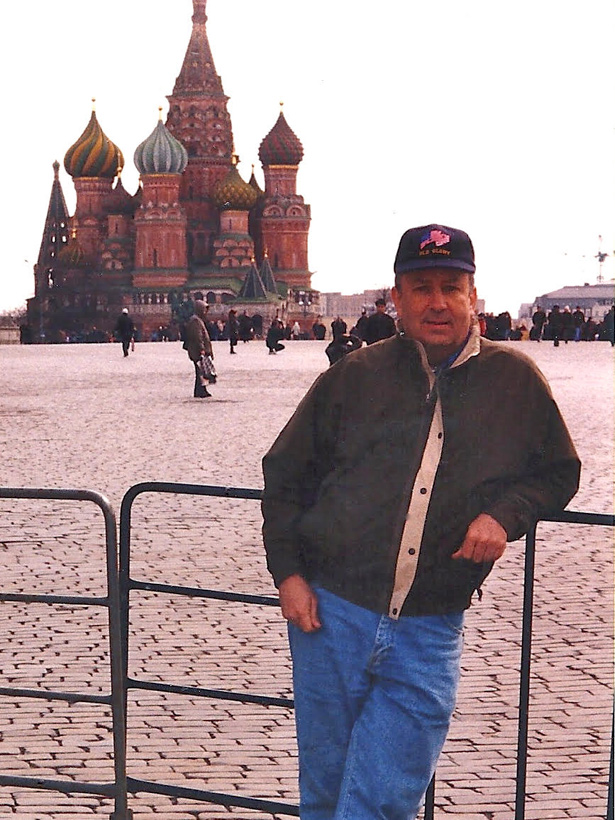 Trip to Moscow, Russia to Conduct Training, 1998