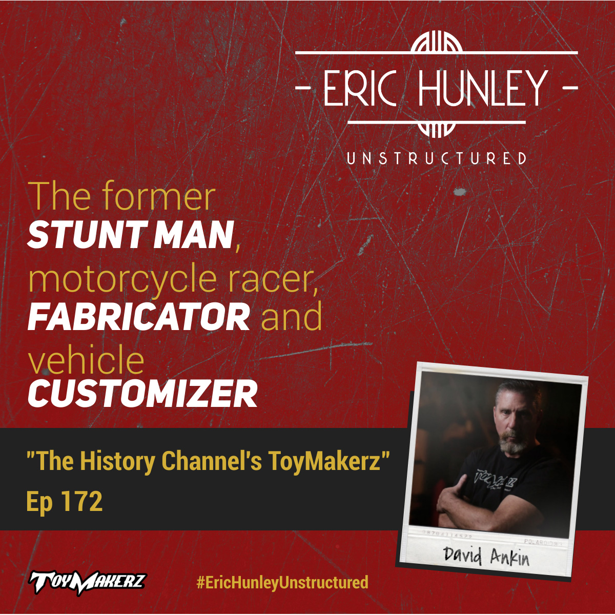 Eric Hunley Unstructured Podcast - 172 David Ankin Square Post
