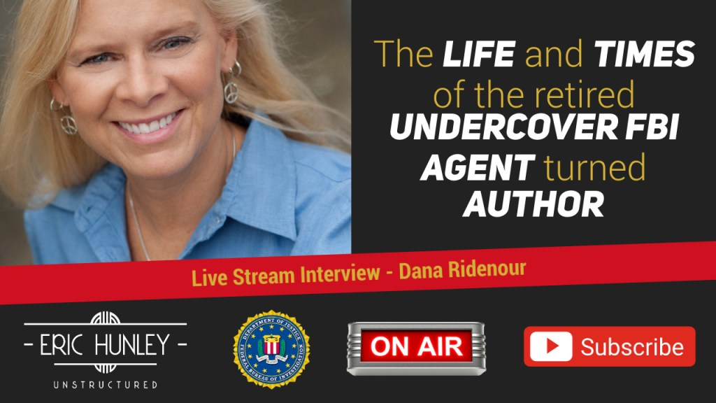 Eric Hunley Unstructured Live Stream Interviews - Dana Ridenour YouTube Thumbnail