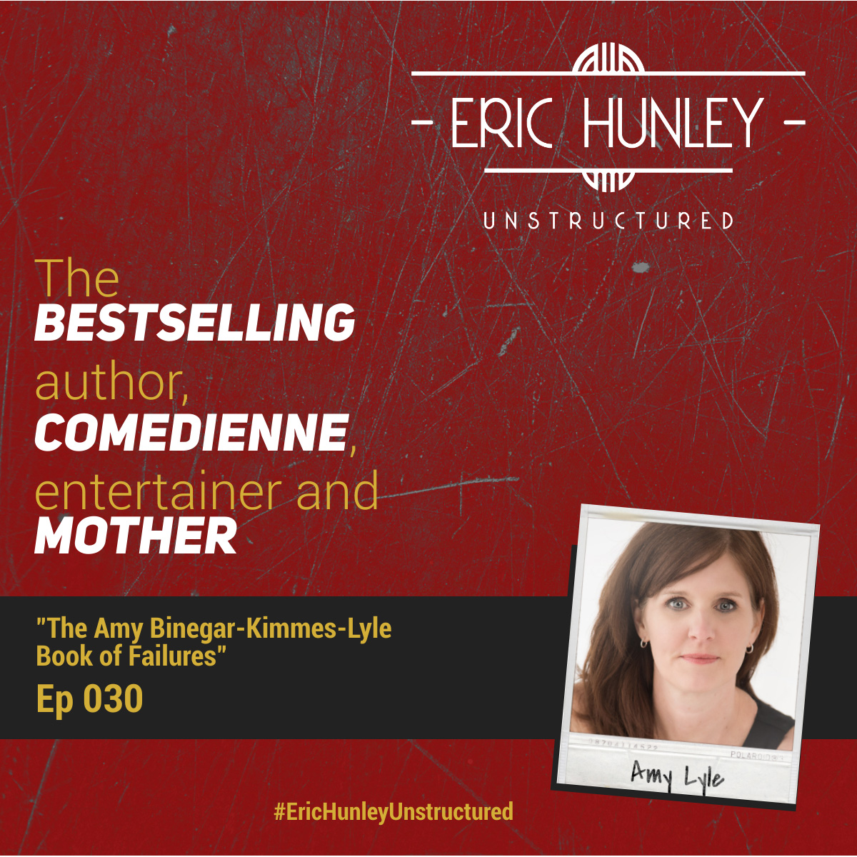 Eric Hunley Unstructured Podcast - 030 Amy Lyle Square Post