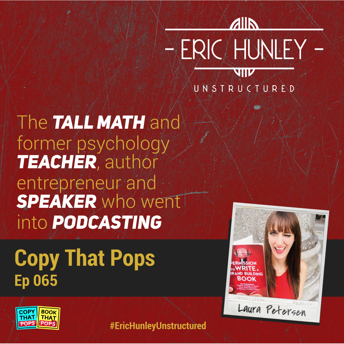 Eric Hunley Unstructured Podcast - 065 Laura Petersen Square Post