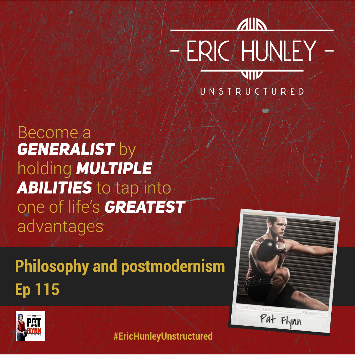 Eric Hunley Unstructured Podcast - 115 Pat Flynn Square Post