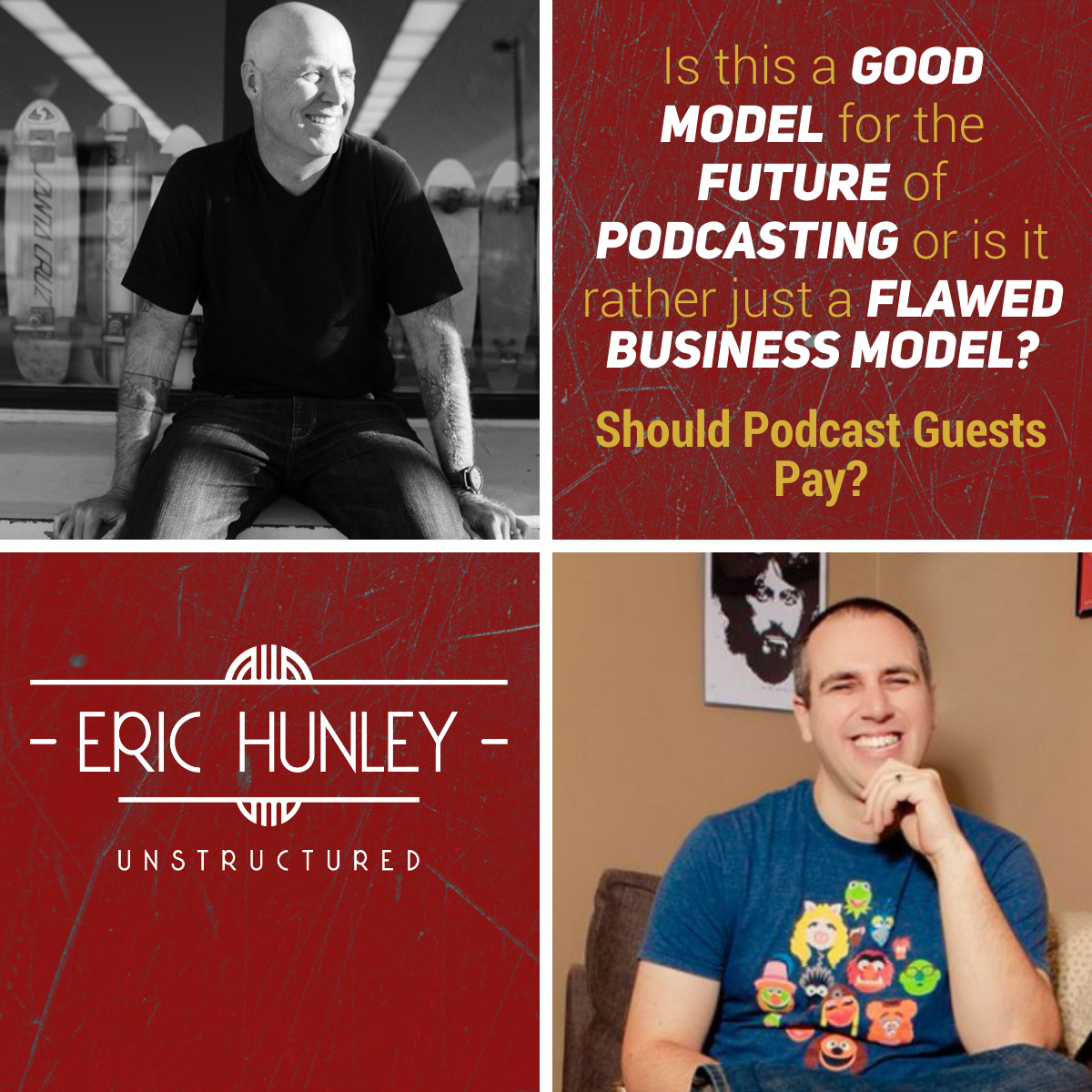 Eric Hunley Unstructured Podcast - 143 Christopher Lochhead and Super Joe Pardo Square Post