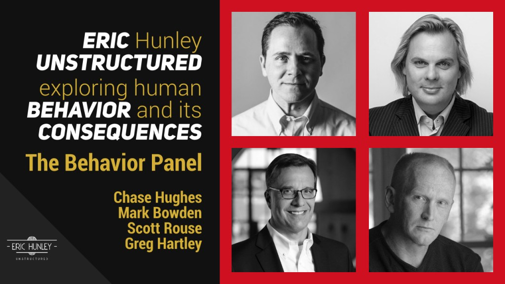 Eric Hunley Unstructured Live Stream Interviews - Behavioral Panel YouTube Thumbnail