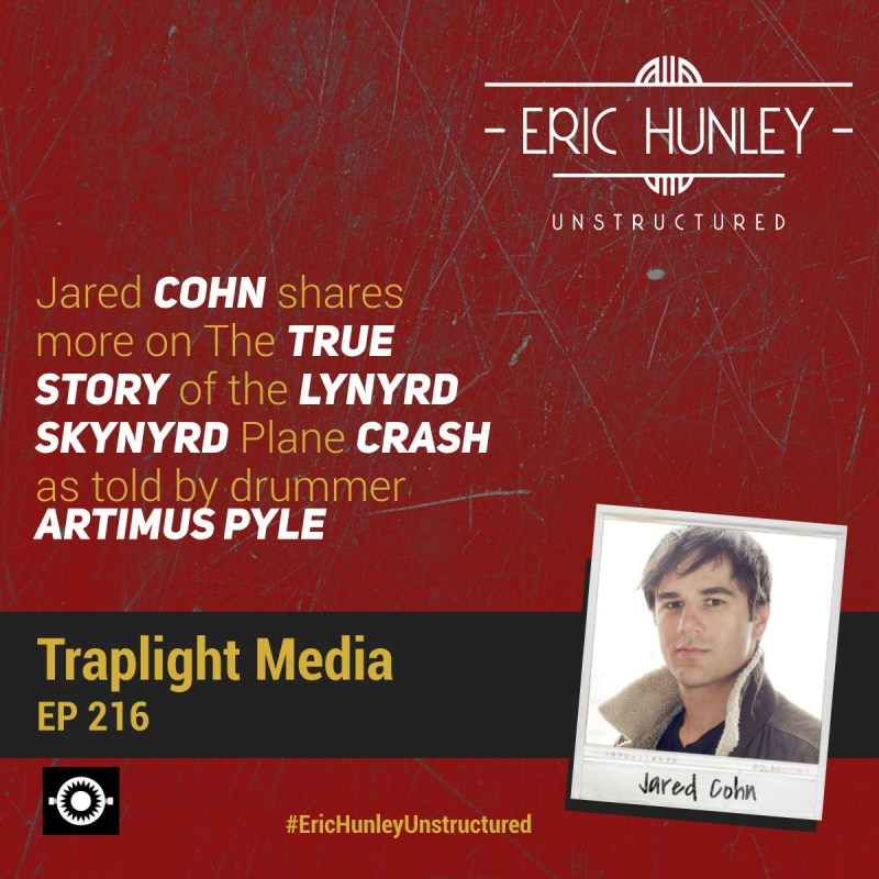 Eric Hunley Unstructured Podcast - 216 Jared Cohn Square Post
