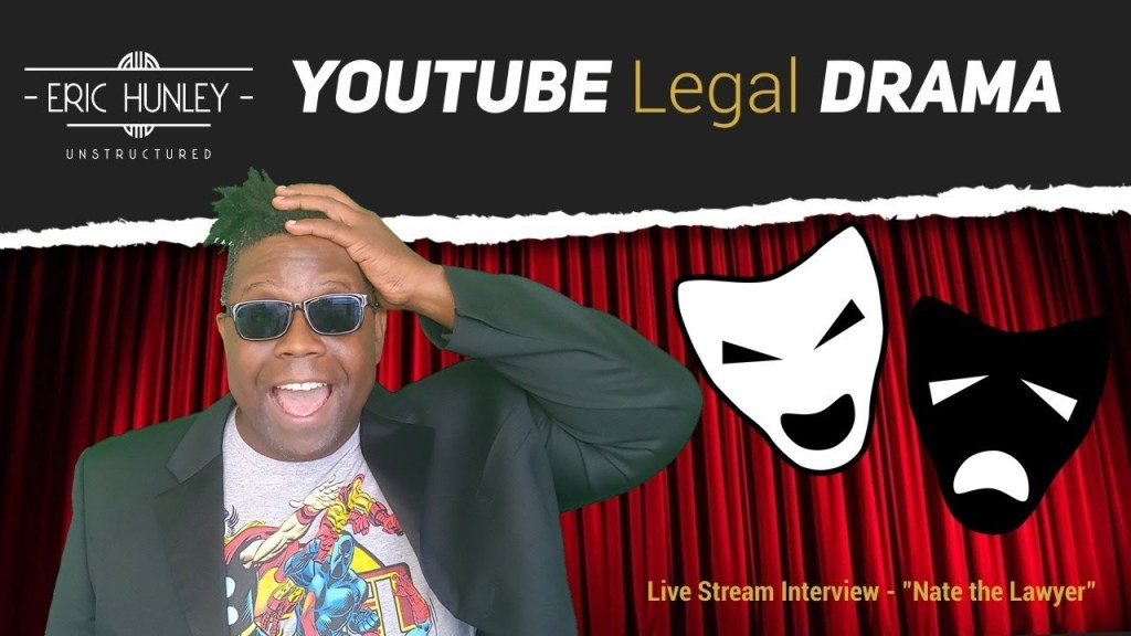Nate the Lawyer talks YouTube Legal Drama