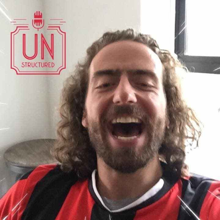 156 - Alex Riesenkampff - Unique wide-ranging and well-researched unstructured interviews hosted by Eric Hunley UnstructuredPod Dynamic Informal Conversations