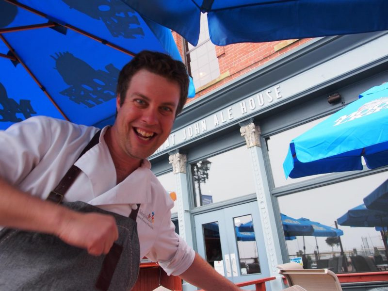Chef Jesse Vergen at Saint John Ale House