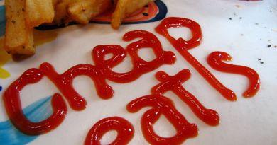 Food Writing - cheapeats writtenin ketchup