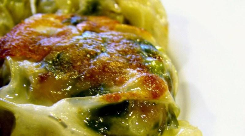 pork & chive dumplings