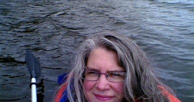 Lex in kayak 2007
