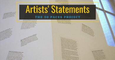 Artist Statements - 50 Paces Project - unsweetened.ca