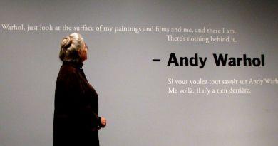 Mom and Andy Warhol