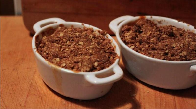 Honeycrisp Apple Crisp Recipe
