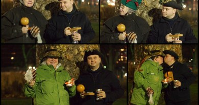 Festival of Lights solstice Crew
